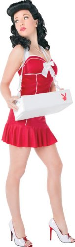 Playboy Cigarette Girl Adult Costume (Extra Small)