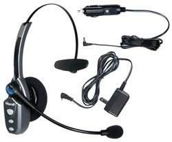 VXI BlueParrott Roadwarrior B250-XT Bluetooth Wireless Headset for Cell Phones/Computers with AC and Auto Chargers