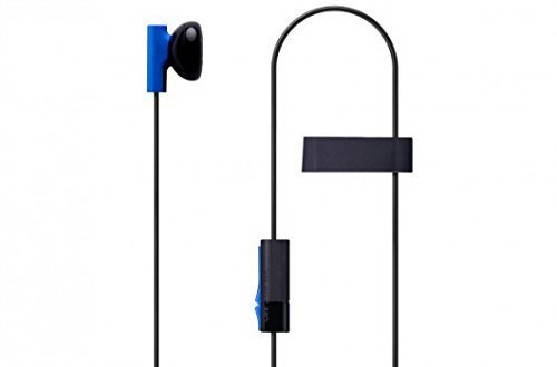 MKK-2-Pack-Mono-Chat-Game-Gaming-Earbuds-Earpiece-earphones-Headphones-Headset-with-Mic-Microphones-for-PS4-Playstation-4