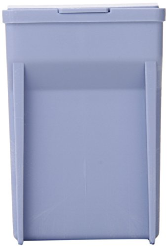 "Simport Easydip M900-12B Acetal Slide Staining Jar, Blue, 3"" L X 2-1/2"" W X 3-5/8"" H (Case Of 6)"