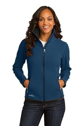 Eddie Bauer Ladies Polyester Full Zip Vertical Fleece Jacket by Eddie Bauer