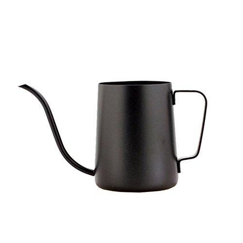 Ufengke 12 Oz Stainless Steel Teflon Coating Gooseneck Pour Over Drip Coffee Maker Tea Coffee Cup Pot Tea Tools