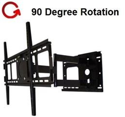 "Rotating Portrait/Landscape Articulating Tv Wall Mount For 32""-55"" Led Lcd Plasma Tv'S **Rotates 90 Degree**"