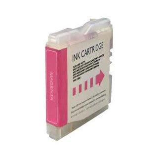 Brother LC970M / LC1000M (LC51) - Magenta Kompatible Drucker-Tintenpatrone für Brother DCP-130C DCP-135C DCP-150C DCP-153C DCP-157C DCP-330C DCP-350C DCP-353C DCP-357C DCP-540CN DCP-560CN DCP-750CN DCP-750CW DCP-770CW FAX-1860C FAX-1960C FAX-2480C MFC-260C MFC-885CW MFC-235C MFC-240C MFC-3360C MFC-440CN MFC-465CN MFC-5460CN MFC-5860CN MFC-660CN MFC-665CW MFC-680CN MFC-685CW MFC-845CW
