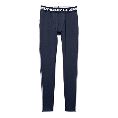 Under Armour Mens UA Coldgear? Armour? Compression Legging Midnight Navy/White Pants LG X 26