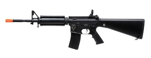 Licensed Echo1 Stag Arms Stag-15 M16 Ris Electric Airsoft Gun Metal Gear Fps-390