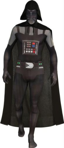 Darth Vader Skin Suit Adult L