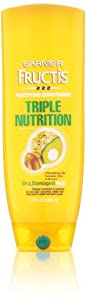 Garnier Fructis Conditioner, Fortifying, Triple Nutrition, 13 Ounce (Packaging May Vary)