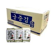 *韓国食品*全世界で一番美味しい海苔!宮中のり 1BOX(3P X 24個)4個まで