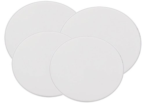 Range Kleen Set of Four Burner Kovers, White