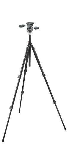 Manfrotto 190XPROB Alu Tripod With 804Rc2 Head - Black