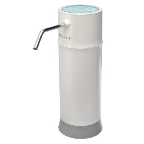 Brondell H2O+ Pearl Countertop Water Filter System, White (Brondell Countertop Water Filter compare prices)
