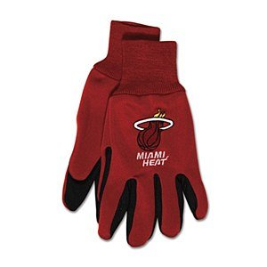 Nba Miami Heat Two-Tone Gloves front-374820