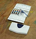 Winsor & Newton - Cotman Water Colour Half Pan and Tube Painting Plus