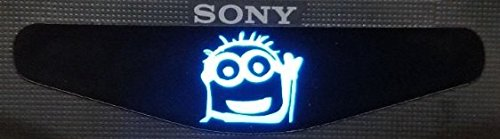 MightyStickers® PS4 Designer Controller LED Light Bar Decal Vinyl Stickers Playstation 4 B Despicable Me 2 Movie Fan - Bye Bye Minion Tomy (1pc)