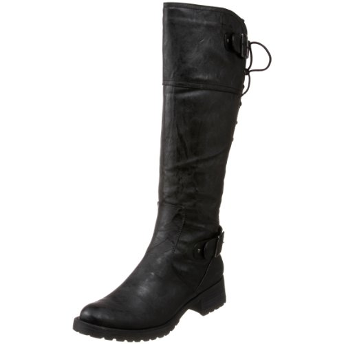 Wanted Shoes Women's Ballard Knee-High Boot,Black,6 M US