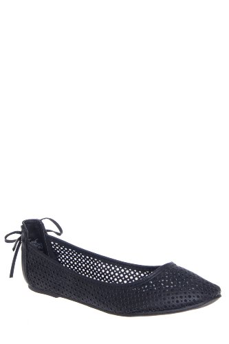 Wanted Salsa Laser Cut Mesh Flat Shoe