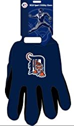 Detroit Tigers Two Tone Gloves