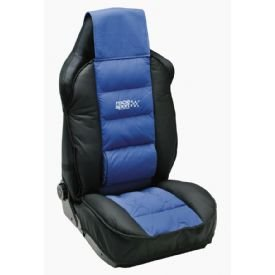 Car Seat Cushion Cover Tuning By Race Sport Blue And Black