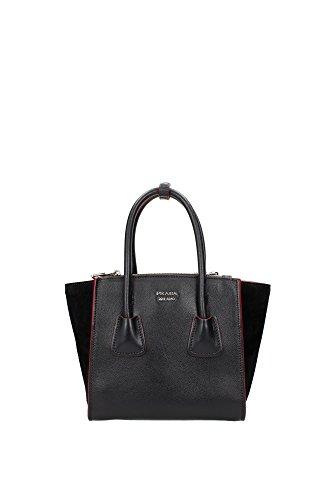 handtasche-prada-damen-leder-schwarz-und-silber-1ba025neror-schwarz-13x20x215-cm
