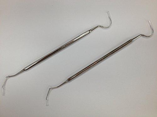 FRIGZ 両頭エキスプローラー 18cm #5 医療用ステンレス器具 T049ー6505 2個セット