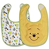 Disney Winnie the Pooh 2 Pack Terry Bibs