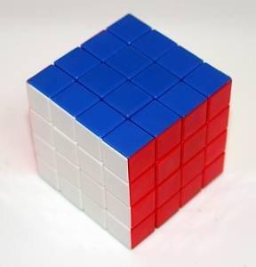 Diansheng 4x4x4 4x4 Stickerless Cube Puzzle - 1