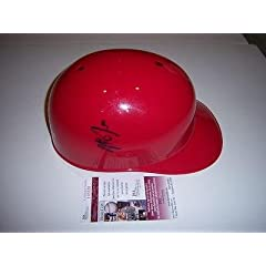 Mike Trout Anaheim Angels Jsa coa Signed Size Batting Helmet - Autographed MLB...
