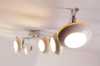 led deckenspot weiss 30 watt lumen 3000 kelvin warmweiss dc315. Black Bedroom Furniture Sets. Home Design Ideas