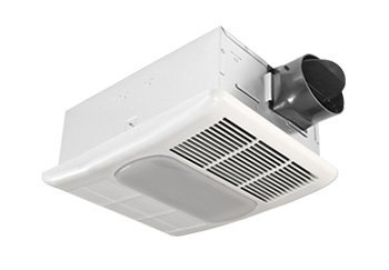 Delta BreezRadiance RAD80L 80 CFM Exhaust Fan with Light and Heater (Bath Ceiling Heater Fan Light compare prices)