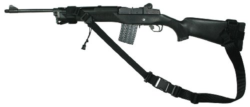 Specter Gear 2 Point Sling, Fits Mini-14 With Standard Fixed Stock, Black front-500132