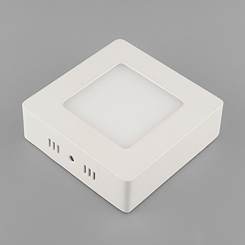 {Factory Direct Sale} 9W Led Surface Panel Wall Ceiling Lights Mount Down Bulb Lamp Warm White 85-265V Square Ultra Bright 720Lm
