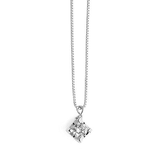collana donna gioielli Comete Punti Luce classico cod. GLB 1278