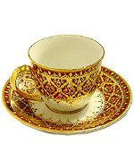 Small coffee cup Phum-Khod pattern Product of Thailand