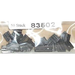 Tillig 83502 – Schwellenklammer (Btl. 50 Stk)