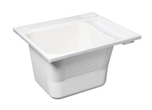 Buy Masco Bath 100029 Drop-In Utility Sink, 14.5-Gallon, White