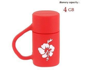 Kettle Mini 4Gb Flash Drive (Red)