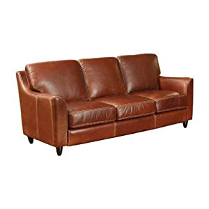 Great Texas Leather Sofa Finish Natural