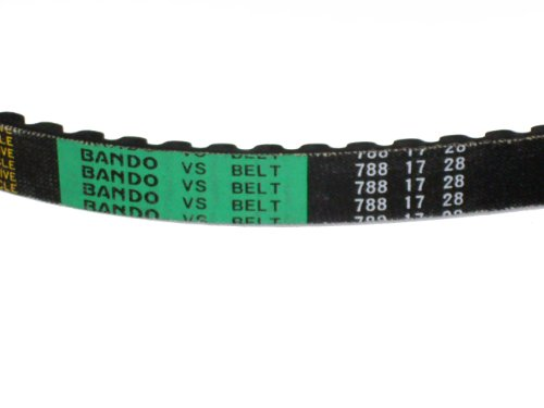 V-Belt BANDO 788 17 28 fits GY6 50cc Scooters