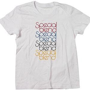 Special Blend Wordmark Repeat T-Shirt Womens $5