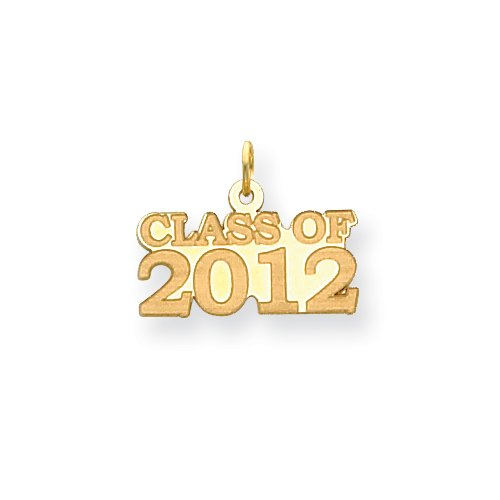 14k Class Of 2012 Charm