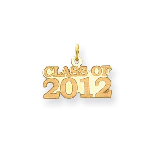 14k Class Of 2012 Charm