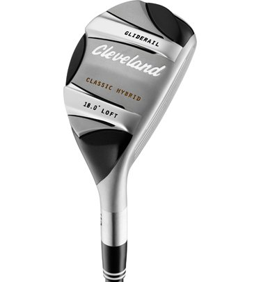 Cleveland Golf Classic Hybrid (Men's, Right Hand, Graphite, Stiff, 18.0 degree)