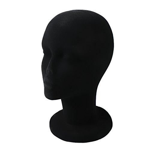 Female Mennequin Manikin Foam Head Model Cap Hat Wig Display Stand – Black