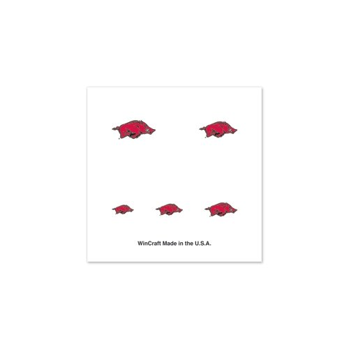 "Arkansas Razorbacks Official NCAA 1"" Fingernail Tattoo Set at Amazon.com"