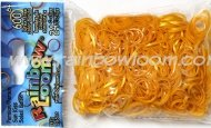 Official Rainbow Loom 600 Persian Sun Kiss Refill Bands w/ C Clip