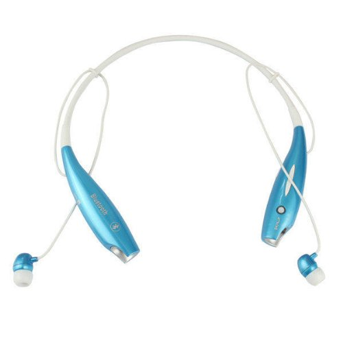 Versiontech Blue Wireless Bluetooth Stereo Sports Headset Earphone Headphone Neckband Style For Iphone 5S 5C 5 4S, Samsung Galaxy Note 3 2 1, Samsung Galaxy S4 S3 S2, Ipod Touch 7 6 5 Ipad 4 Mini Air And Other Smart Cellphone