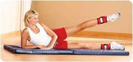 Buy Sammons Preston Cuff Weights Sammons Preston Rolyan Cuff Weights Color: Dk. Green Weight: ?(227g) Popular