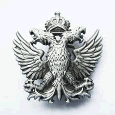 Double Headed Eagle Belt Buckles