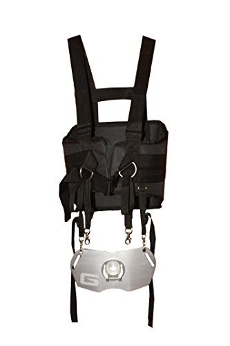 Gaffer Sportfishing Tournament Series Offshore Shoulder Harness with Alloy Plate, Grey (Fishing Shoulder Harness compare prices)